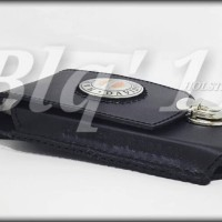 Tempat Dompet Sarung hp Harley kulit asli Samsung Note,S7 Edge
