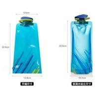 700 ml Botol minum lipat anti tumpah bpa free outdoor vapur
