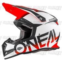 Helm Cross Oneal 5 Series BLOCKER Black Orange /HELMET O'NEAL Oren
