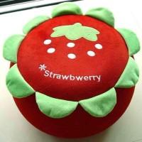 Jual Air Sofa Kursi Bangku Balon Tiup Barang Mainan Unik Cartoon Strawberry Murah