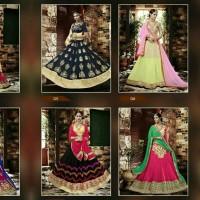 gaun pengantin India 4 motif