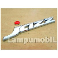 Emblem JAZZ Untuk Varian Mobil Honda Jazz 2008-2013