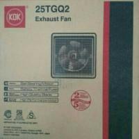 """Exhaust Fan 10"""" KDK 25TGQ / Ceiling Fan KDK 10""""inch Garansi"""