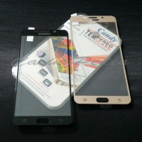 Samsung Galaxy A9 Pro (2016) - Anti Gores Tempered Glass Colored Frame