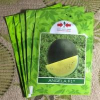 Harga benih semangka kuning angela f1 hibrida panah merah kemasan   antitipu.com