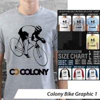 [DISKON] Kaos Colony Bike Graphic 1 - Distro Ocean Seven