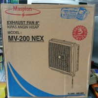 Exhaust Fan Maspion MV-200 NEX (Ukuran 8 Inch)