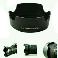 LENS HOOD for CANON 700D 70D 18-55mm STM Kit EW-63C EW63C