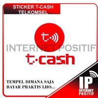 STICKER T-CASH TAP | SALDO 0 | T CASH TELKOMSEL REKENING PONSEL