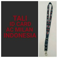 LANYARD MILANISTI AC MILAN INDONESIA TALI HP GANTUNGAN