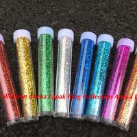 Bubuk Glitter 8 Warna / Glitter 8 w