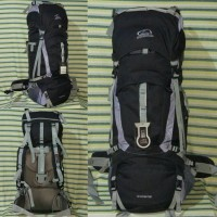 Carrier Tas Gunung Sioux 60L Black Ori Not Consina, Rei, Deuter