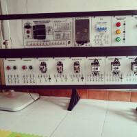 Trainer PLC OMRON CP1E N 20DRA (komplit)