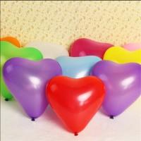 (Large) Balon Latex Hati (Heart) - 11 inch