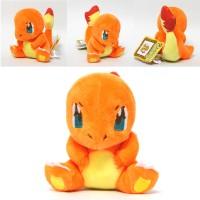 004 Boneka Charmander 15cm Boneka Pokemon Lucu Banget Impor