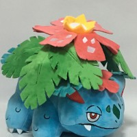003 Boneka Venusaur 30cm Boneka Pokemon