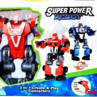 Harga Super Robot 3in1 Create Hargano.com