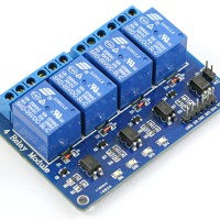 Modul Relay 4 Channel (Max 10A 250VAC/ 10A 30VDC)