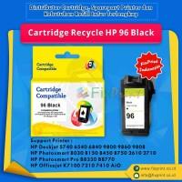 Cartridge Recycle HP 96 Black C8767WN, Printer HP Deskjet 5740 6540