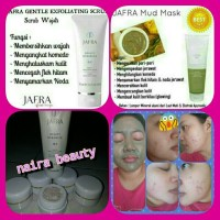 Jual Mud Mask Jafra + Gentle Exfoliating Scrub Jafra Original (jar) Murah