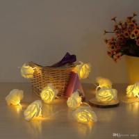 Lampu Hias Bunga Tumblr Warm White Dekorasi Wedding Valentine Romance