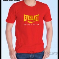 Kaos Everlast-- Siluet Store