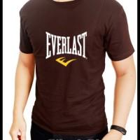 Kaos Coklat Everlast- Siluet Store