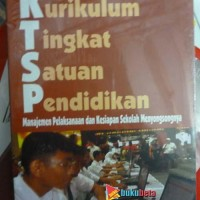 Kurikulum Tingkat Satuan Pendidikan - Moh Joko Susilo Diskon