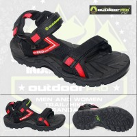 Sandal Gunung Outdoor Pro Vulcan Red Not Eiger Consina Arei Cozmeed