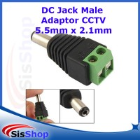 JACK KONEKTOR POWER DC CCTV MALE CONECTOR CONNECTOR