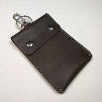 Jual dompet STNK mobil motor simpel dan unik bahan kulit sapi asli | coklat Murah