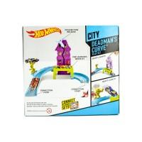 Hot Wheels City Sets - Hot Wheels City Deadmans Curve Track Set