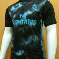 Jersey Baju Bola Real Madrid Away Leaked GO 17/18