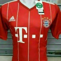 Jersey Bola Bayer Muenchen Home Leaked GO 17/18
