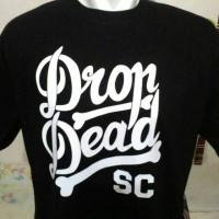 harga Kaos Big Size Dropdead Sc/baju Dropdead Size Besar (2xl,3xl,4xl) Tokopedia.com