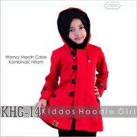 Jaket Anak Perempuan Murah Jaket Anak Cewek Hoodie Merah