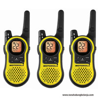 Motorola MH230TPR Two Way Radio 3 Pack, FRS/GMRS