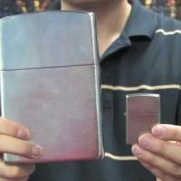 Jual Korek Api Gas ZIPPO SUPER BIG JUMBO Berat 2 Kilo Murah