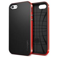 TREND!! Spigen iPhone 5C Neo Hybrid - Dante Red Murah