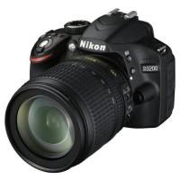 Kamera Dslr Nikon D-3200 + Lensa Kualitas Bagus