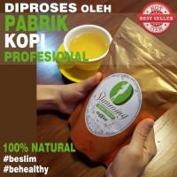 Jual Kopi Hijau Diet Langsing Slimming Green Bean Coffee BUBUK KASAR 250gr Murah