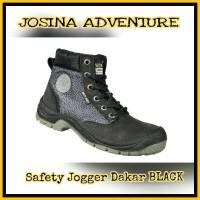 Safety Jogger Dakar Black / Hitam - Sepatu Safety Shoes