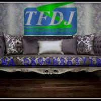 sofa tamu silver grade A/ sofa tv/ furniture mebel jepara/ jakarta
