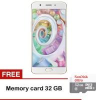 harga Oppo F1s Plus Selfie Expert - 64 Gb-free Memory Sandisk 32gb Class 10 Tokopedia.com