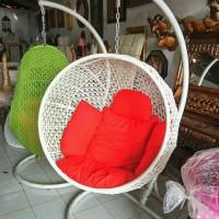 kursi kepompong/ayunan kepompong (furniture rotan jepara)