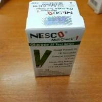 Jual Strip Nesco Gula Darah / Glucosa Murah