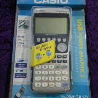 Casio USB Power Graphic calculator | kalkulator grafik fx-9860GII SD
