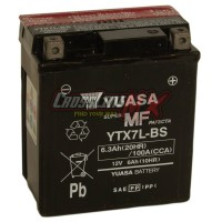 AKI / ACCU YUASA YTX7L-BS MF 12V - AH ORIGINAL KLX VESPA HONDA SUZUKI