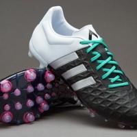 Sepatu Bola Adidas ACE 15.2 FG/AG Black White Original Murah