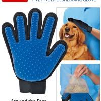 True Touch Five Finger Pet Deshedding Glove - As Seen On TV
